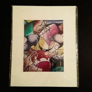 New Orleans Jazz Art Print 8x10